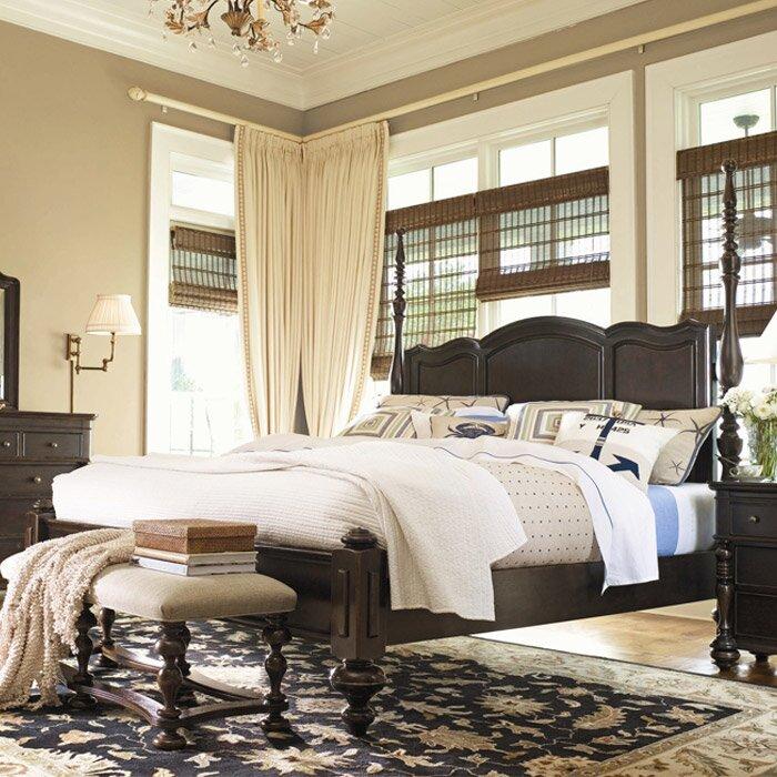 Universal Furniture Paula Deen Home Four Poster Bed & Reviews ...