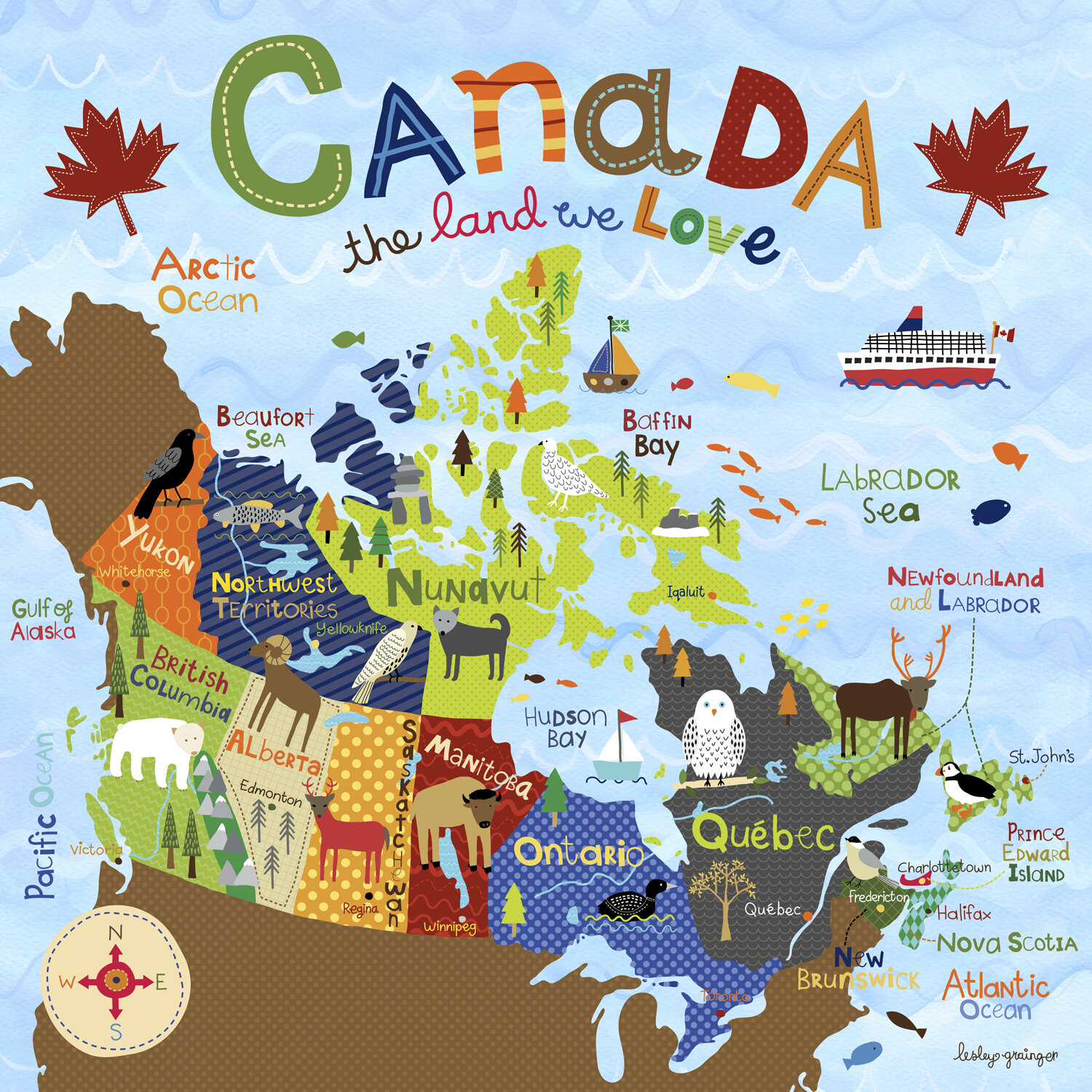 Zoomie Kids Henrietta Canada The Land We Love By Lesley