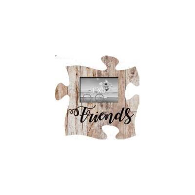 Winston Porter Heiman Friends Puzzle Picture Frame   Wayfair