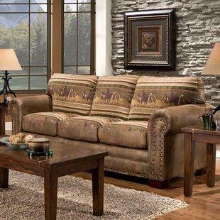 Log Cabin Sofa | Wayfair