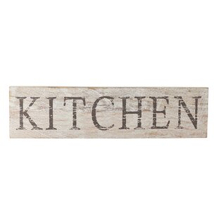 Farmhouse Kitchen Plaque Wall Décor