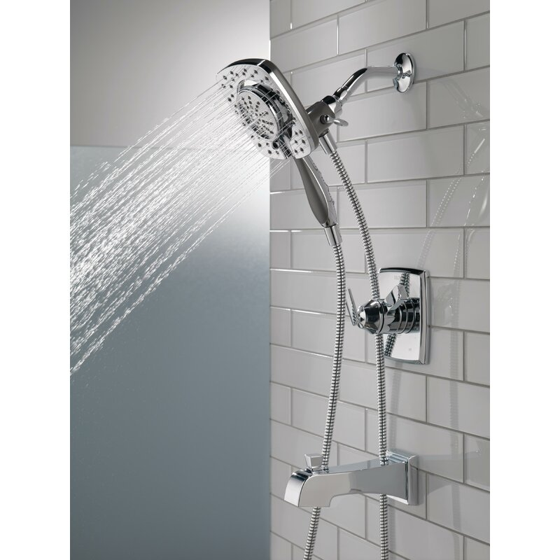Shower Faucet.Ashlyn Pressure Balance Tub And Shower Faucet Trim Kit With In2ition Shower