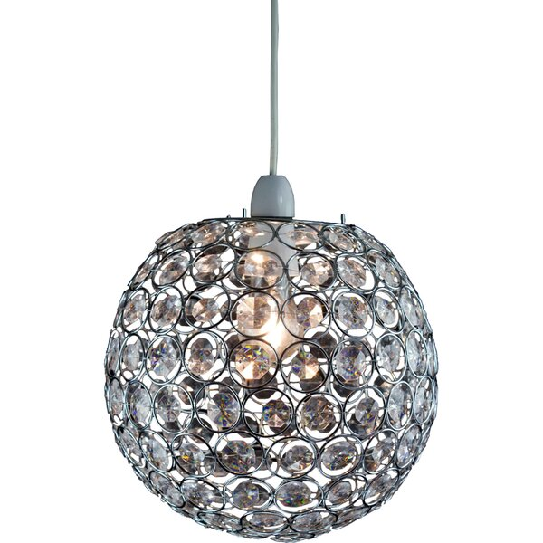Servlite lightmode 25cm crystal sphere pendant shade reviews servlite lightmode 25cm crystal sphere pendant shade reviews wayfair mozeypictures Gallery