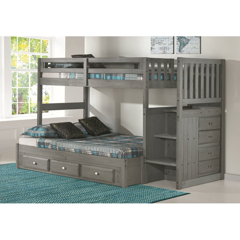 Sandler Bunk Bed with Drawers