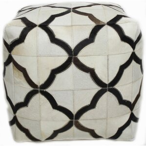 Mayfair Pouf Ottoman by Bashian Rugs