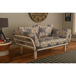 Everett Convertible Loungers in Genoa Futon and Mattress by Ebern Designs