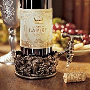 Vineyard's Harvest 1 Bottle Tabletop Wine Rack