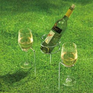 Renn Steady Sticks 1 Bottle Floor Wine Bottle Rack