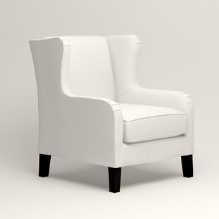 white wingback chair. Save White Wingback Chair