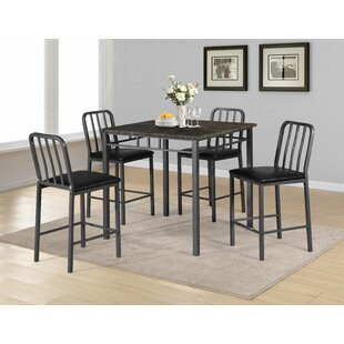 Destiney 5 Piece Pub Table Set