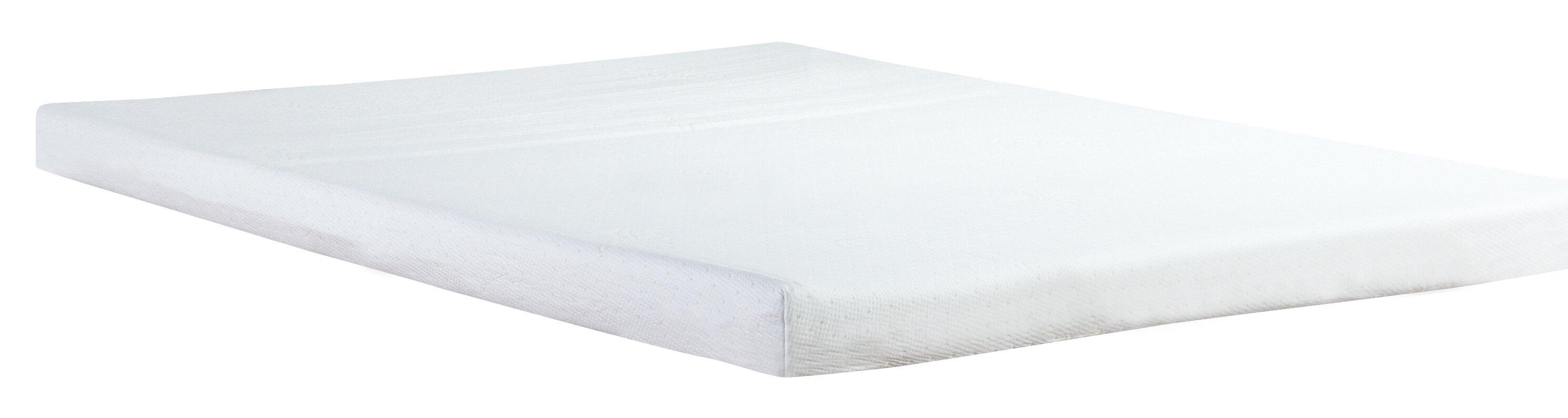 "Classic Brands 4 5"" Plush Memory Foam Mattress & Reviews"
