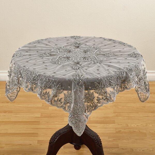 Attirant Saro Najmina Hand Beaded Tablecloth | Wayfair