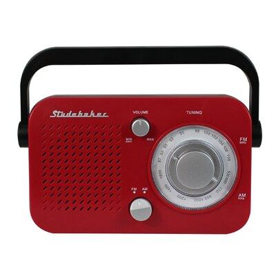 Retro Portable AM/FM Tabletop Radio