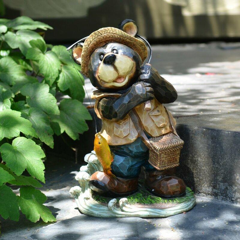 Ordinaire Polyresin Bear Garden Statue