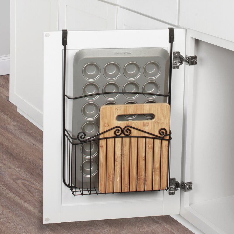 Scroll Over Cabinet Door Organizer