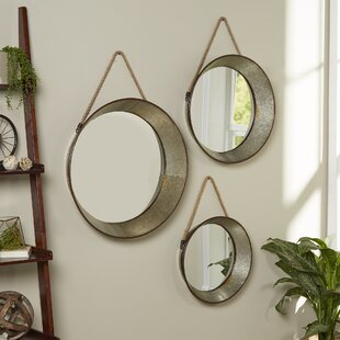 3 Piece Longworth Mirror Set