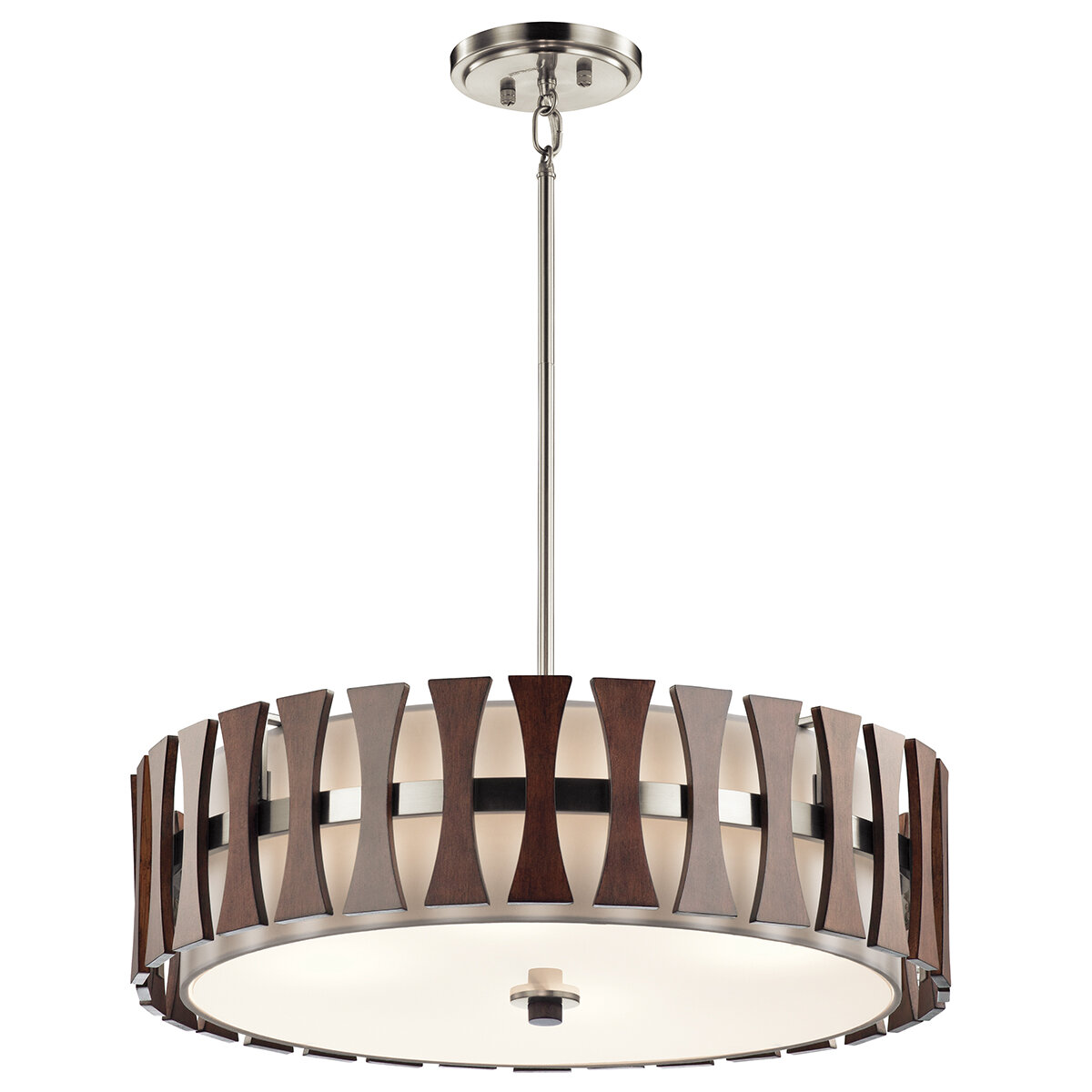 Kichler cirus 4 light drum pendant reviews wayfair