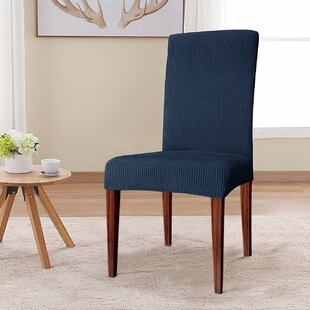 Quickview & Blue Kitchen u0026 Dining Chair Slipcovers Youu0027ll Love | Wayfair