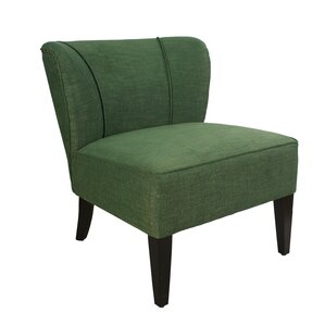 Geraldine Leisure Linen Slipper Chair by Alcott Hill