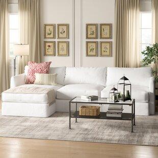 Ivory Sectional Sofa Wayfair