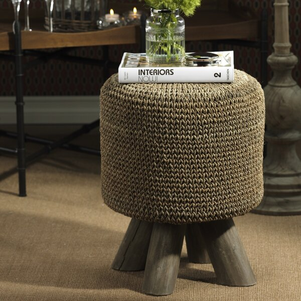 Zodax 17 75 Inch Tall Raku Woven Vanity Stool Amp Reviews