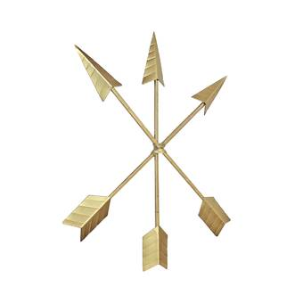 Sagebrook Home Metal Arrow and Feather Wall Décor & Reviews