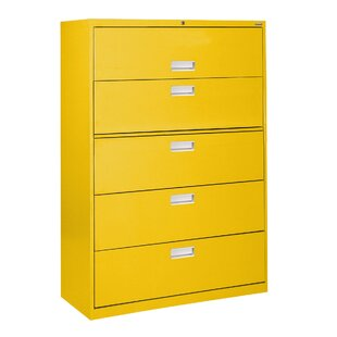 Yellow Metal Filing Cabinets