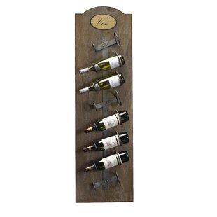 Belfield 8 Bottle Wall Mounted Wine Rack