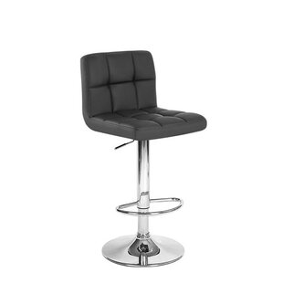 Simard Adjustable Height Swivel Bar Stool