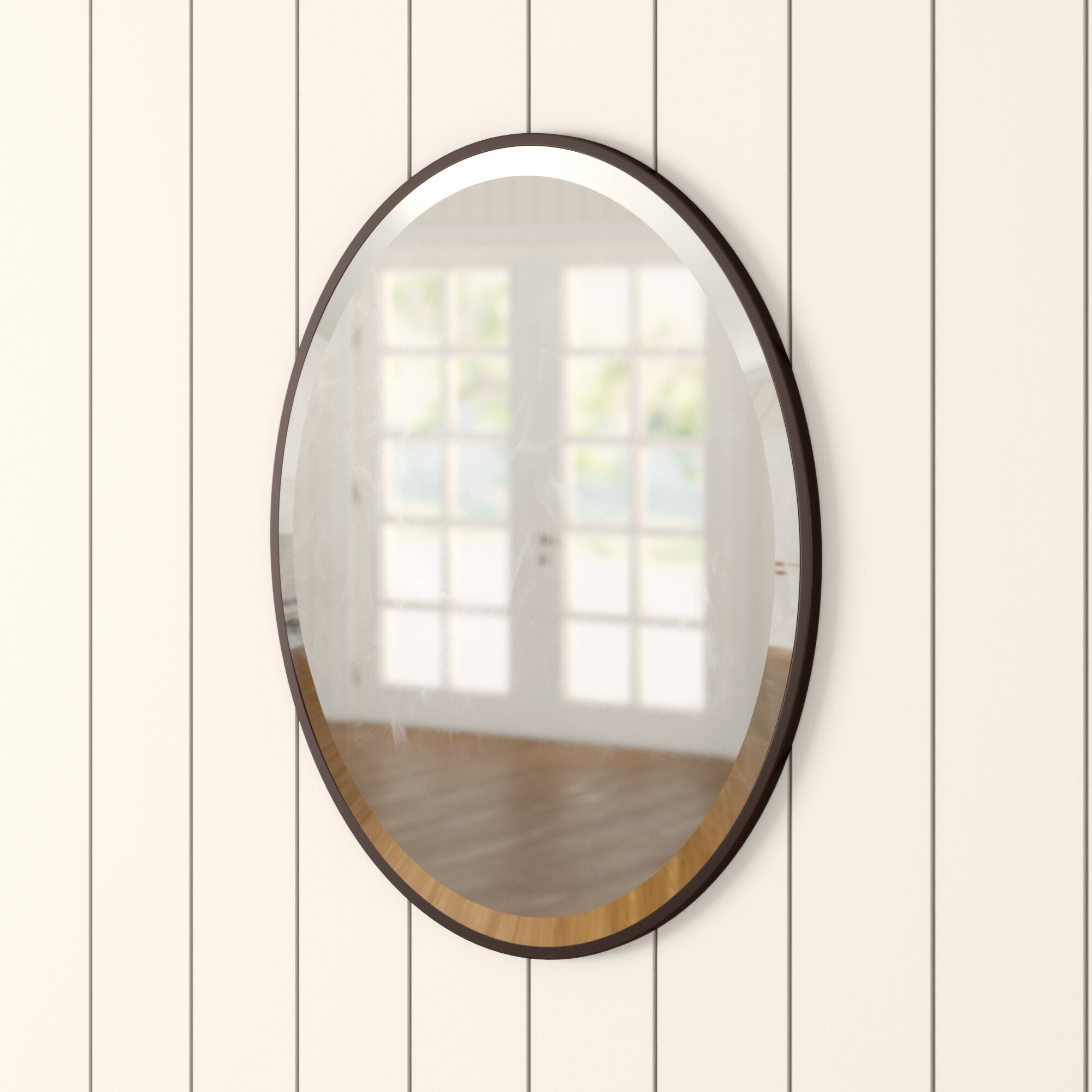 Birch Lane Heritage Lincolnwood Oval Bathroom Vanity Mirror