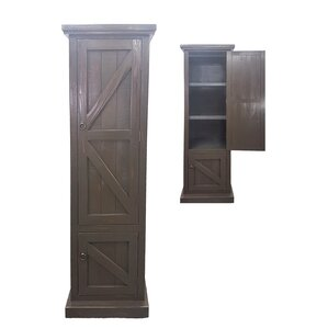 barn door armoire. rustic single door armoire barn