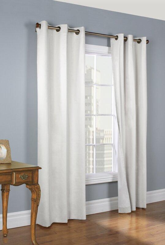Ranger Solid Room Darkening Thermal Grommet Curtain Panels