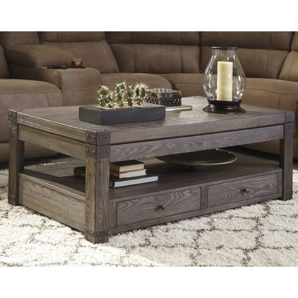 Bon Loon Peak Bryan Coffee Table With Lift Top U0026 Reviews | Wayfair