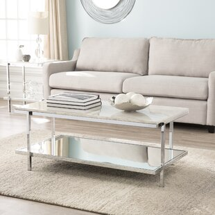 Faux White Marble Coffee Table Wayfair