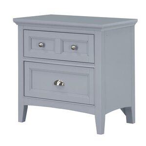 Estelle 2 Drawer Nightstand by Viv + Rae
