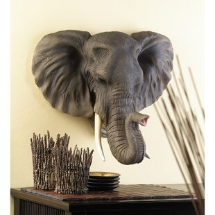 Noble Elephant Wall Décor