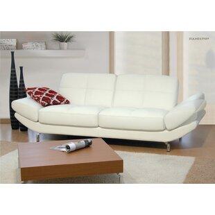 Italian Leather Sofa   Wayfair.co.uk