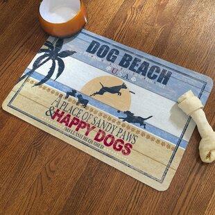 Dog Beach Doormate