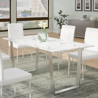 Marble Kitchen Amp Dining Tables You Ll Love Wayfair Ca