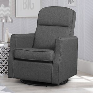 Blair Slim Nursery Swivel Rocker Glider : nursery recliner chair - islam-shia.org