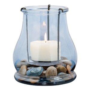 Coastal Decorative Glass Hurricane