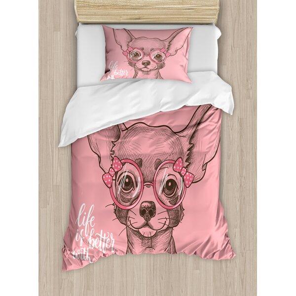 ce2900ae08a5d Girls Puppy Bedding   Wayfair