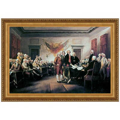 Design Toscano Declaration of Independence, 1817 by John Trumbull ...
