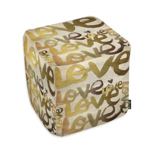 Quartes Four Letter Word Ottoman by Mercer41