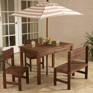 Kids 5 Piece Rectangular Writing Table and Chair Set. by KidKraft & KidKraft Kids Tables \u0026 Chairs You\u0027ll Love