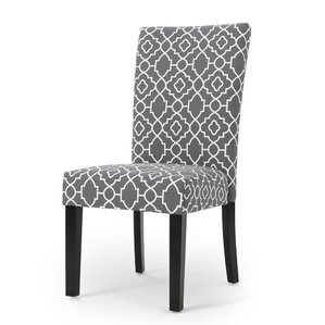 Beufort Upholstered Dining Chair (Set of 2) by Latitude Run