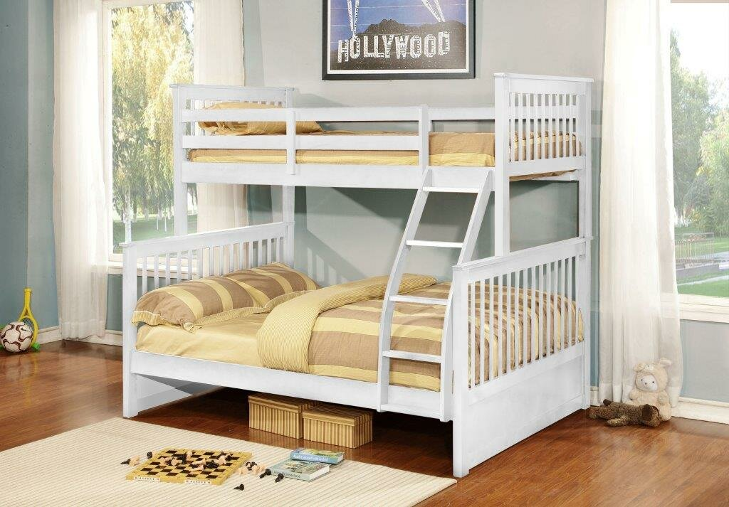 Inroom Designs Twin Over Full L Shaped Bunk Bed Amp Reviews
