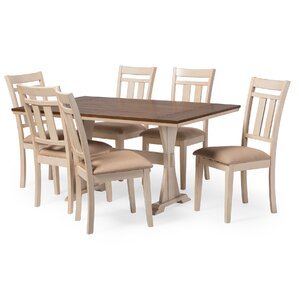 Baxton Studio Roseberry 7 Piece Dining Set by Wholesale Interiors