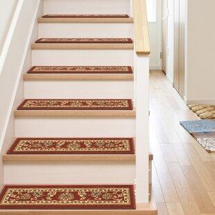 Red Stair Tread Rugs Youu0027ll Love In 2019 | Wayfair