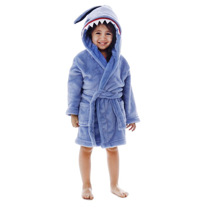 9765e8e722 Zoomie Kids Giambrone Animal Adventures Solid Terry Cloth Bathrobe ...